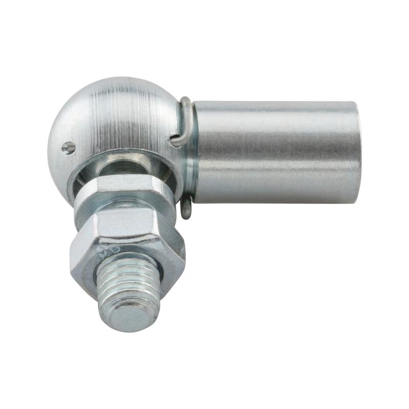 Rotule d'articulation avec circlips de retenue et étrier de sécurité TypeCS - 1