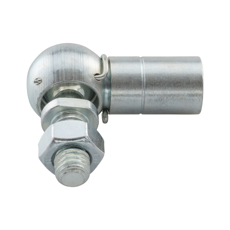 Winkelgelenk Form CS mit Sicherungsbügel, Linksgewinde - WNKLGLK-71802-CS-KGL/16-(A2K)-LM10X15,5