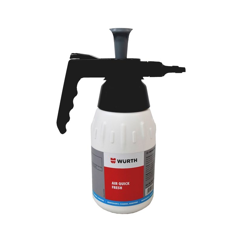 Product-specific pump spray bottle Unfilled - PMPSPRBTL-PLA-QUICK FRESH-1000ML
