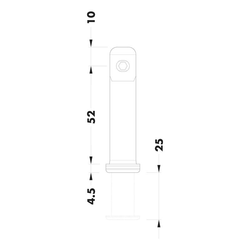Sockelhöhenversteller Typ R - 2