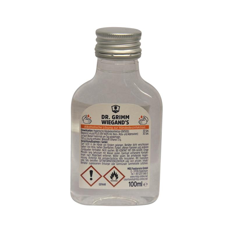 Handdesinfektionsmittel Event Liner - HNDDESINF-DR.GRIMMWIEGAND-3073262-100ML