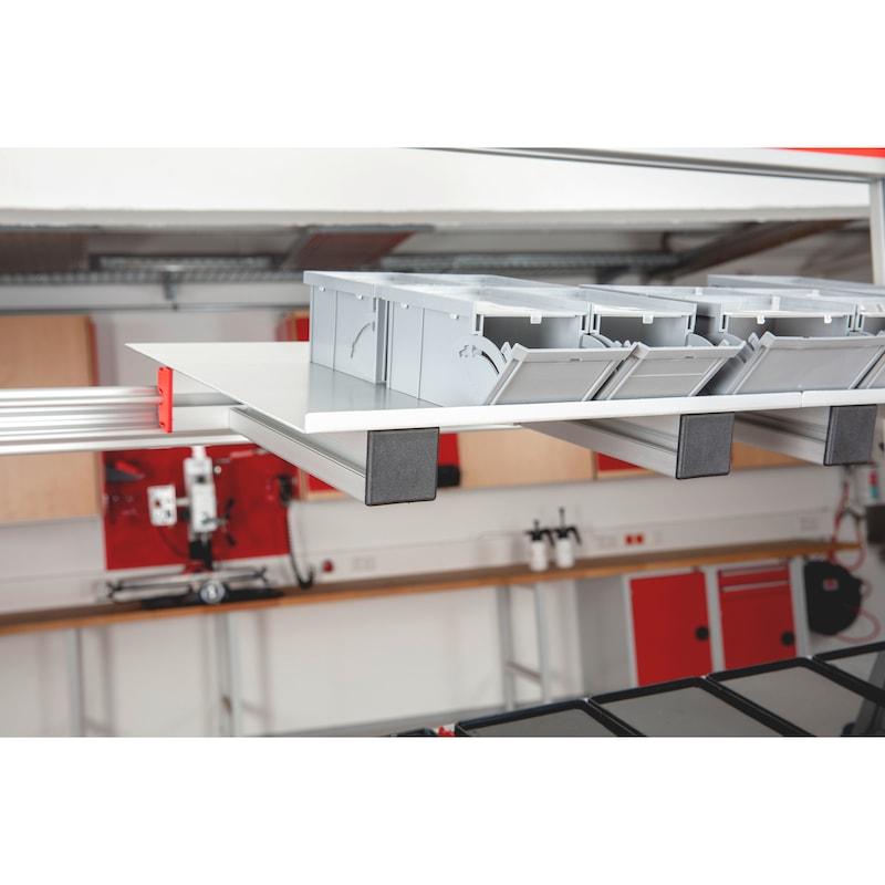 CLIP-O-FLEX<SUP>®</SUP> Tablar Fifo-Flex  Tablar zur Behälterablage - AP-HOMAG-SONDER-TABLAR-394X360-OPT-7