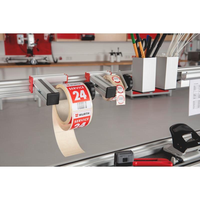 CLIP-O-FLEX<SUP>®</SUP> Halter Labelflex  Abroll-Halterung für Etikettierungen  - 2