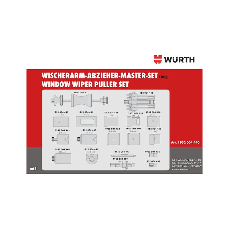 Wischerarm-Abzieher-Master-Satz - 4
