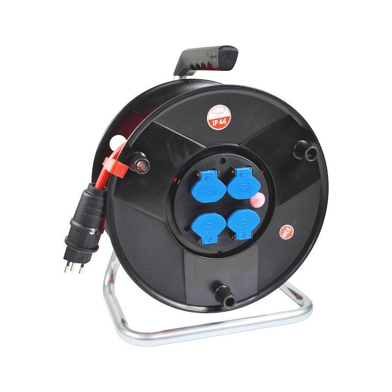Tambour à câble en plastique Profi IP 44 - CBLDRM-PLA-IP44-CBLL33M