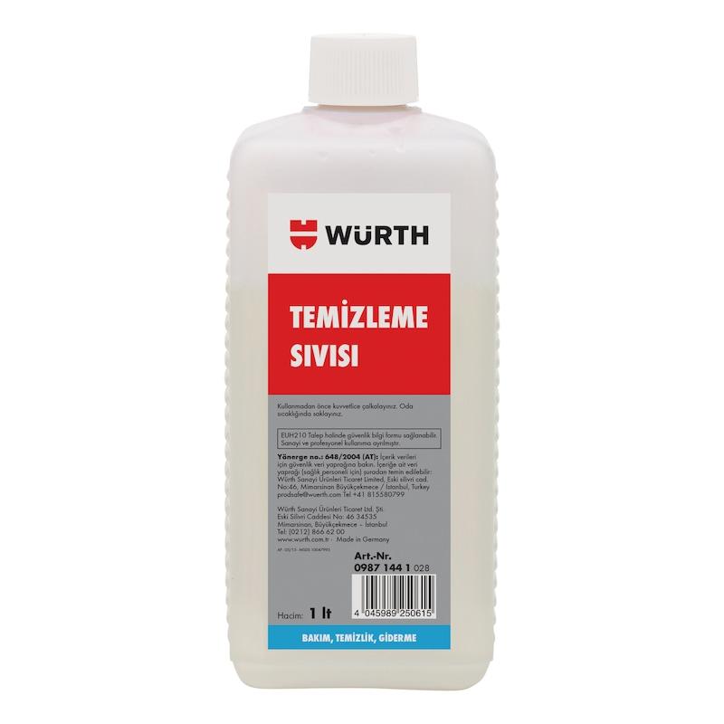 Welnox temizleme sıvısı - WELNOX TEMİZLEME SIVISI 1000ML