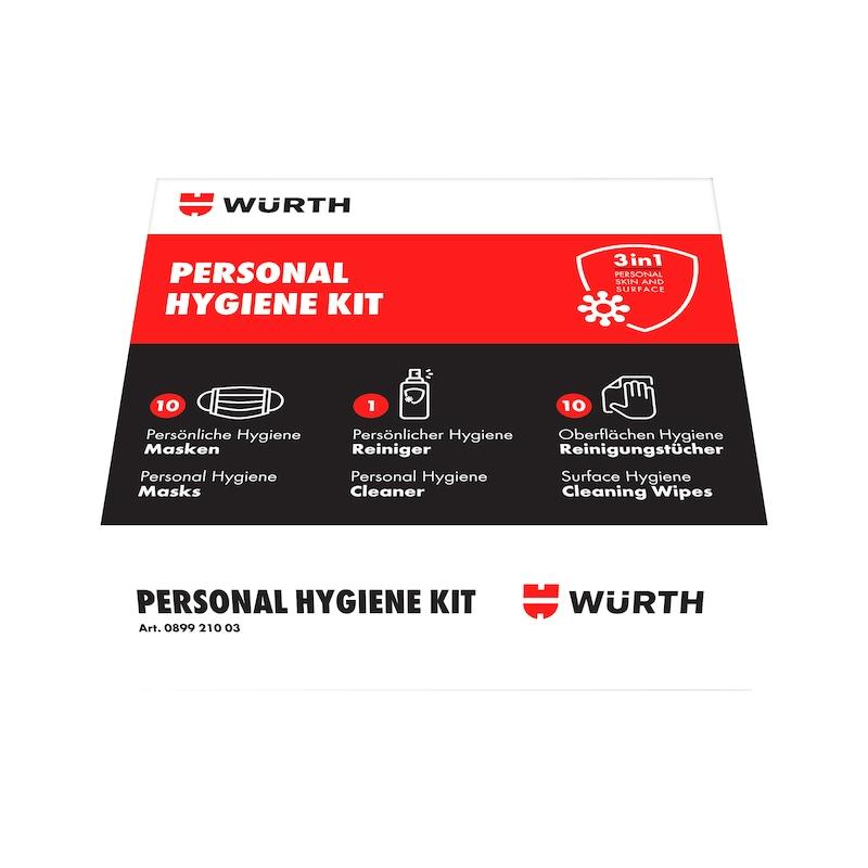Persönliches Hygiene-Kit