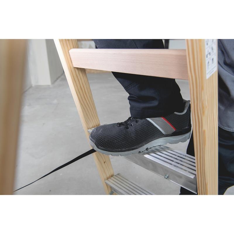 Nachrüst-Stufe für Holz-Sprossen-Stehleitern/Hybrid-Leitern - 2