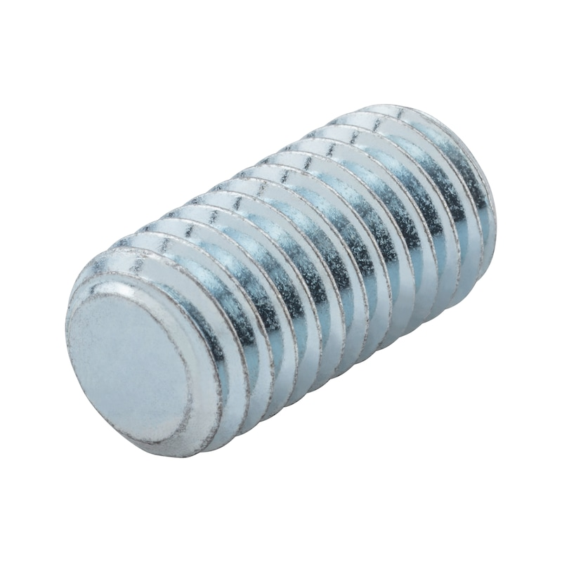 Hexagon socket set screw with truncated cone - 4