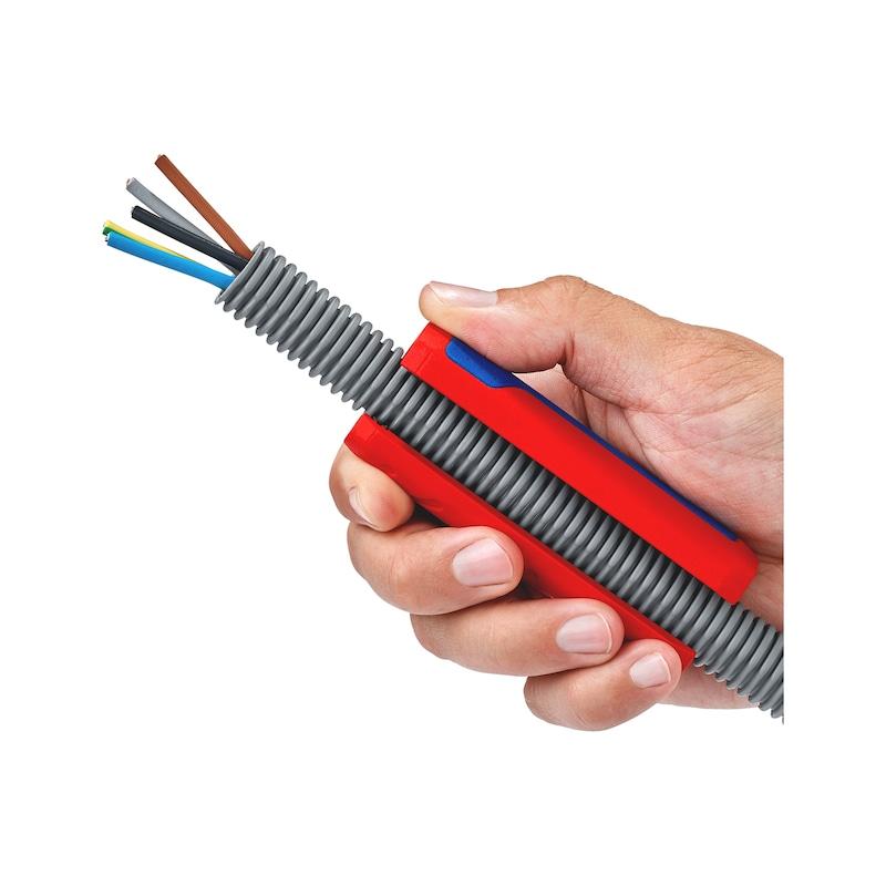 Dénudeur pour tubes annelés et fils électriques - 3