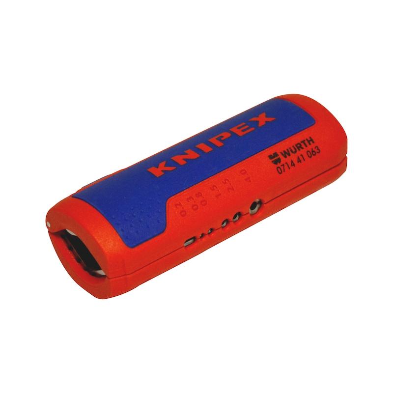 Dénudeur pour tubes annelés et fils électriques - 1