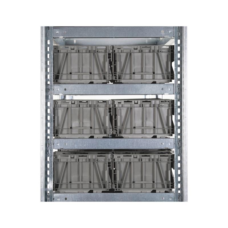Steckregal Basic für System-Lagerboxen - 3