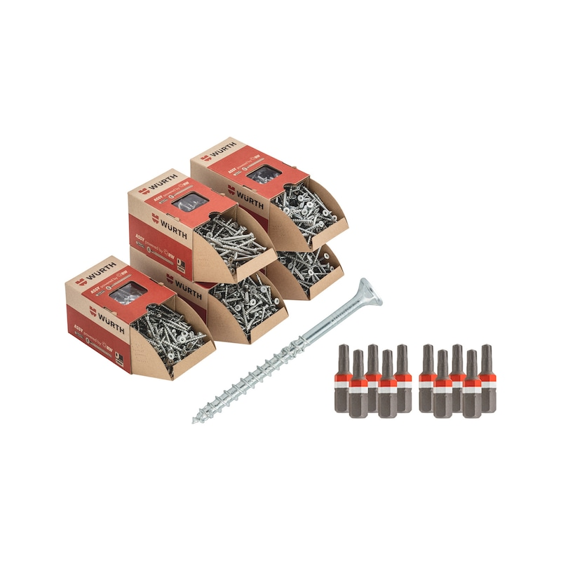 ASSY® 4-set ø 5,0 mm - ASSY-4-CSMP-UNIVERSEEL-SET-Ø5,0MM