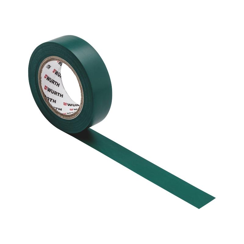 Electrical insulating tape - INSUTPE-EL-GREEN-15MMX10M