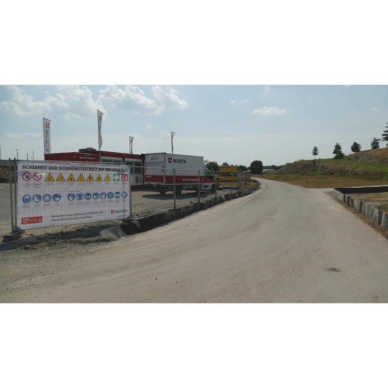 Bauzaun PSA-Banner  - 2