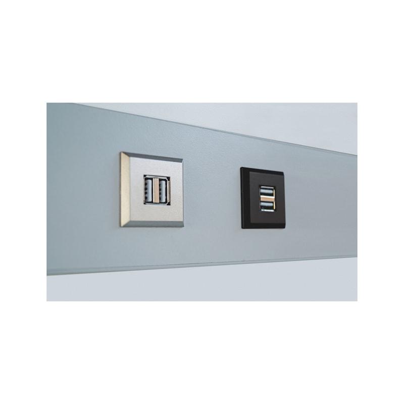 USB-Doppelsteckdose - 6