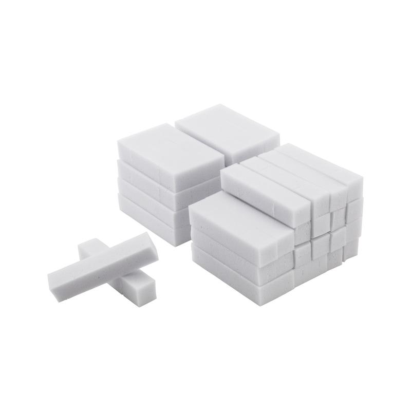 Reinigungsschwamm Abrasiv  - REINIGSCHWAMM-ABRASIV-L100MMXB20MMX20MM