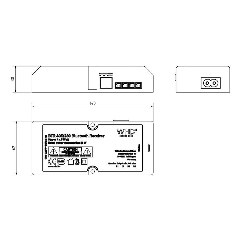Lautsprechersystem mit Bluetooth-Technologie - 2