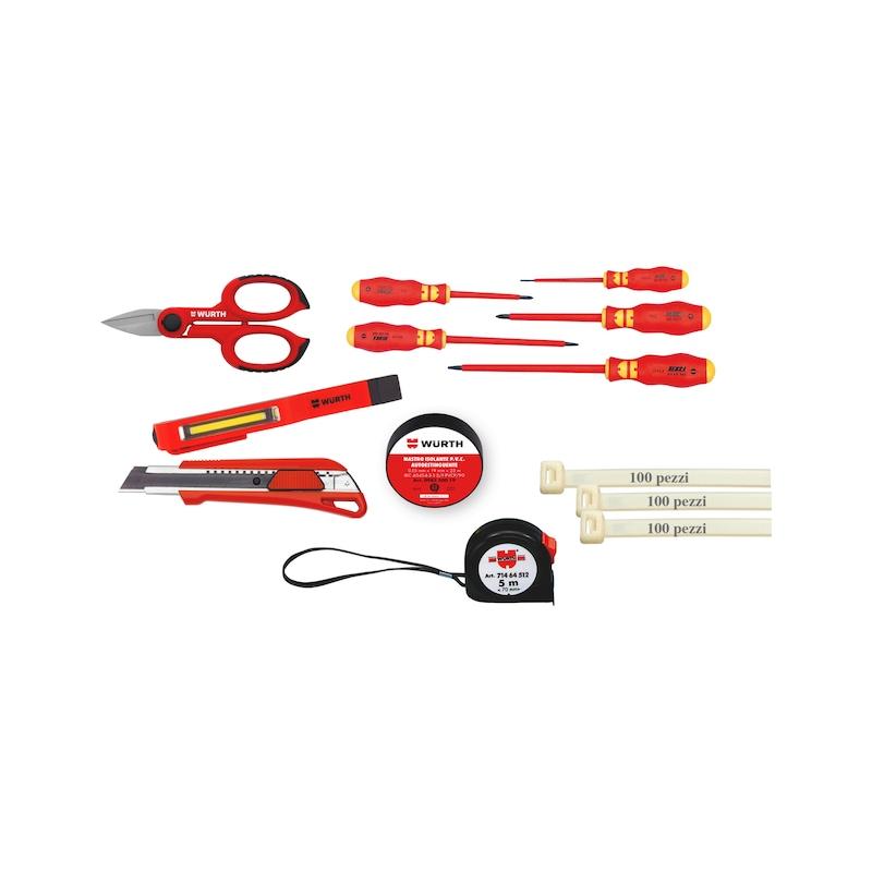 Kit utensili per elettricisti