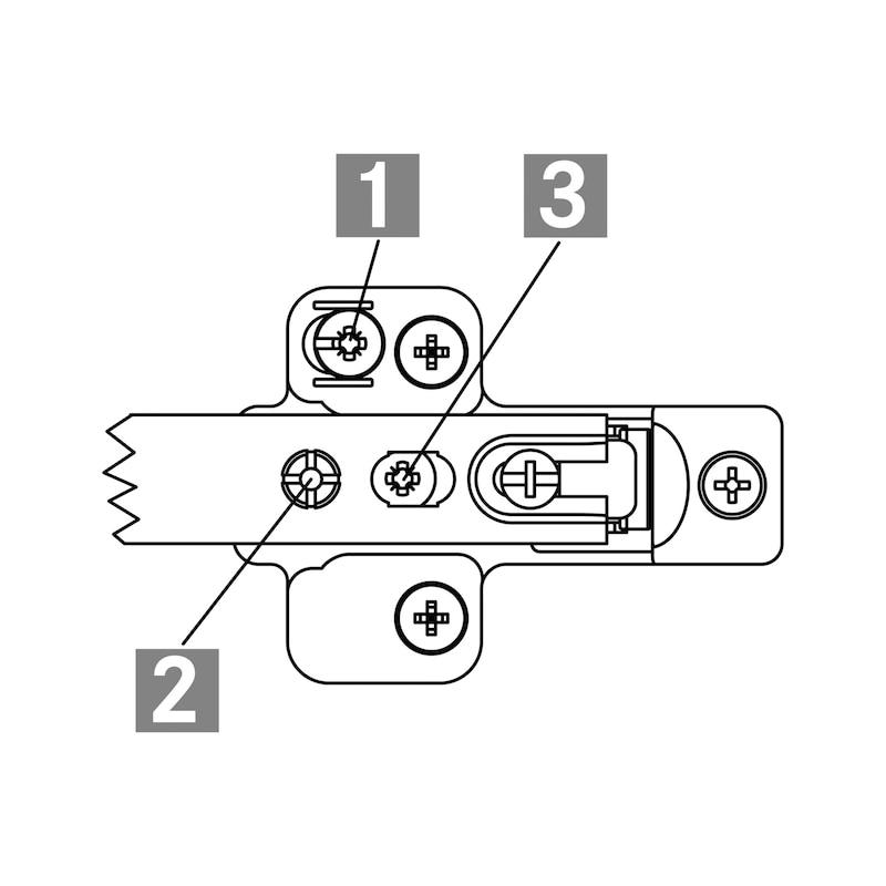 Montageplatte Nexis ZD - 3