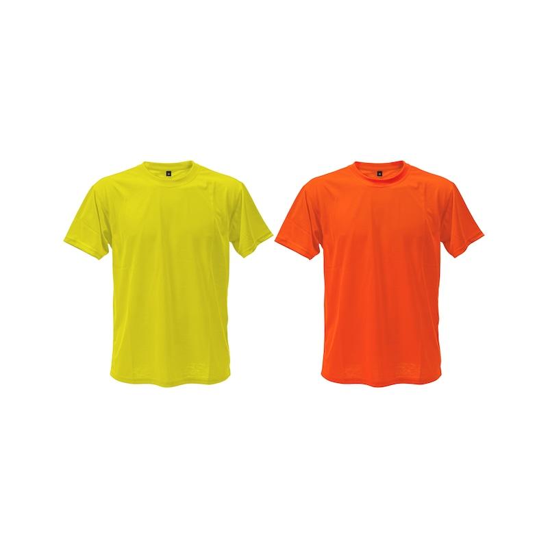 Huomiovärinen t-paita