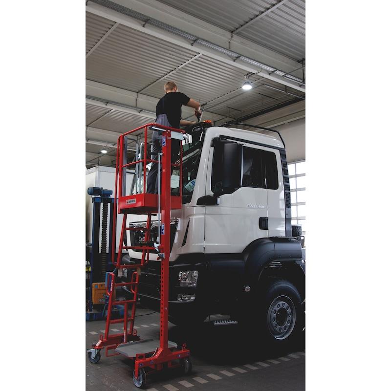 Mobiler Arbeitslift - MOBILER-ARBEITSLIFT-STROMLOS