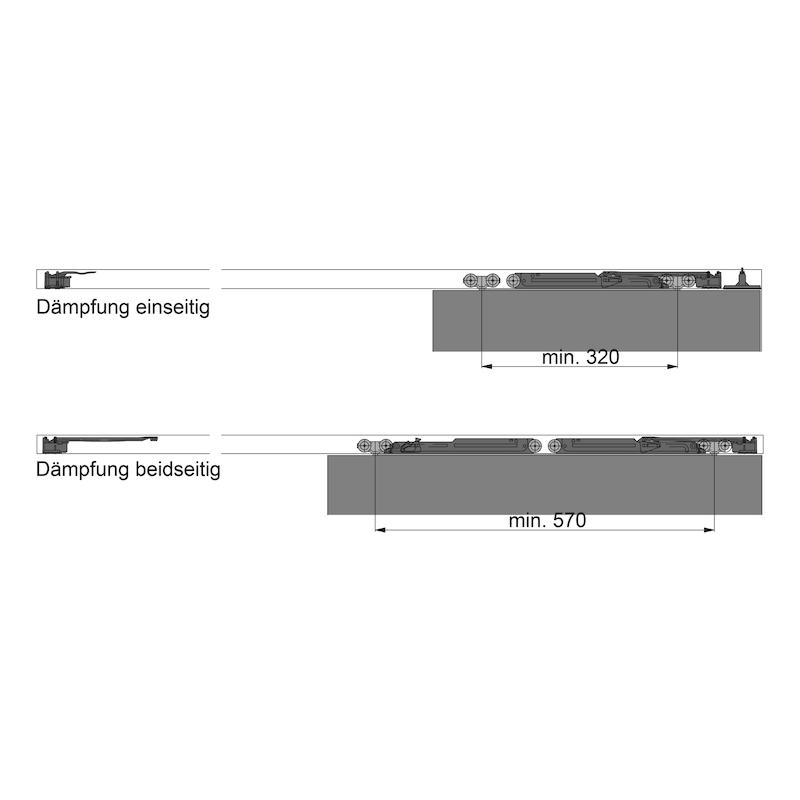 Dämpfungssystem Redoslide - ZB-DAEMPFUNG-SHIEBTR-REDOSLID-Z40-G/M35