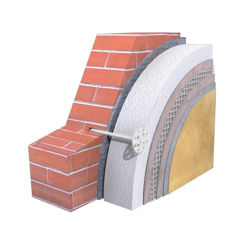 Tassello per pannelli isolanti  KI-10 - 2