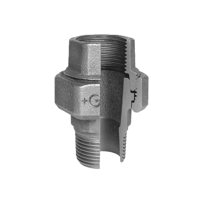 Gewindefitting - FITT-VSHR-KGLD-V3/8X3/4-341-ISO-U12