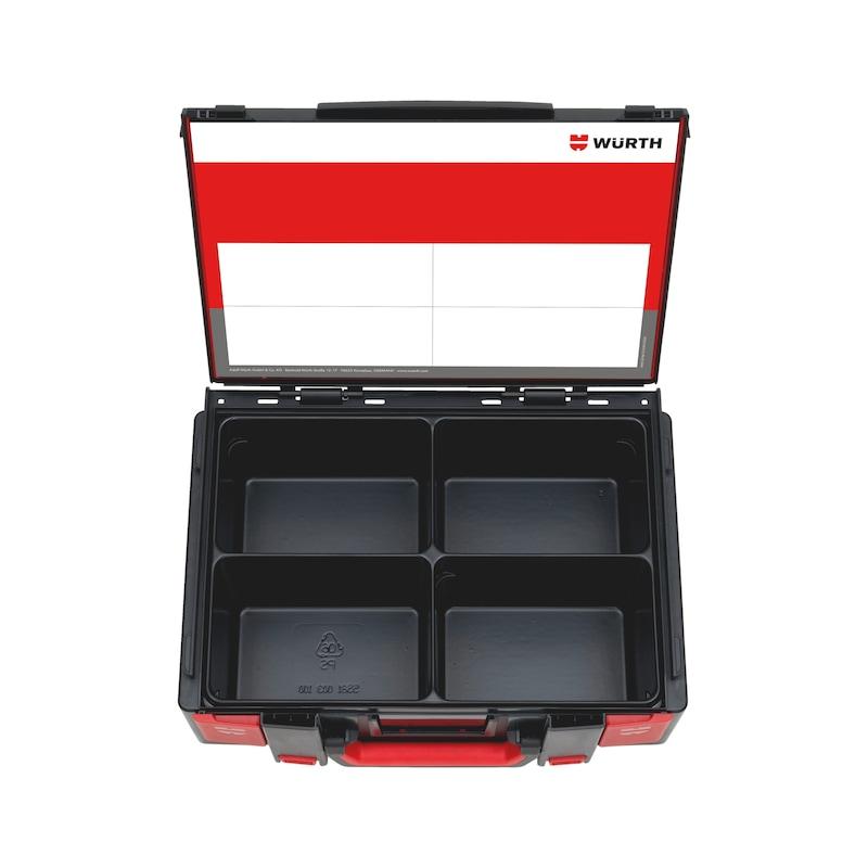 System-Koffer 4.4.2 Leersortiment