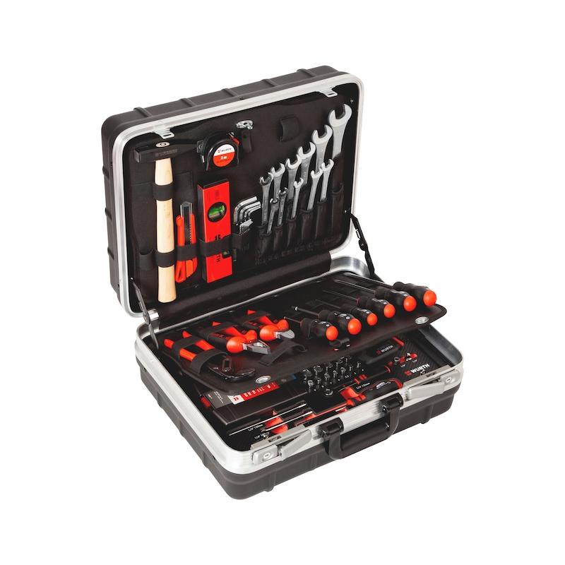 Assortimento di utensili con trapano avvitatore a batteria M-CUBE®, 108 pezzi - 1