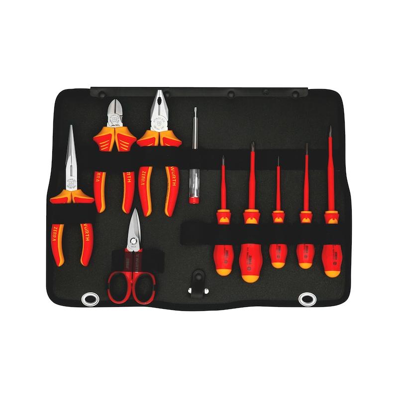 Assortimento di utensili con trapano avvitatore a batteria M-CUBE®, 109 pezzi - 6