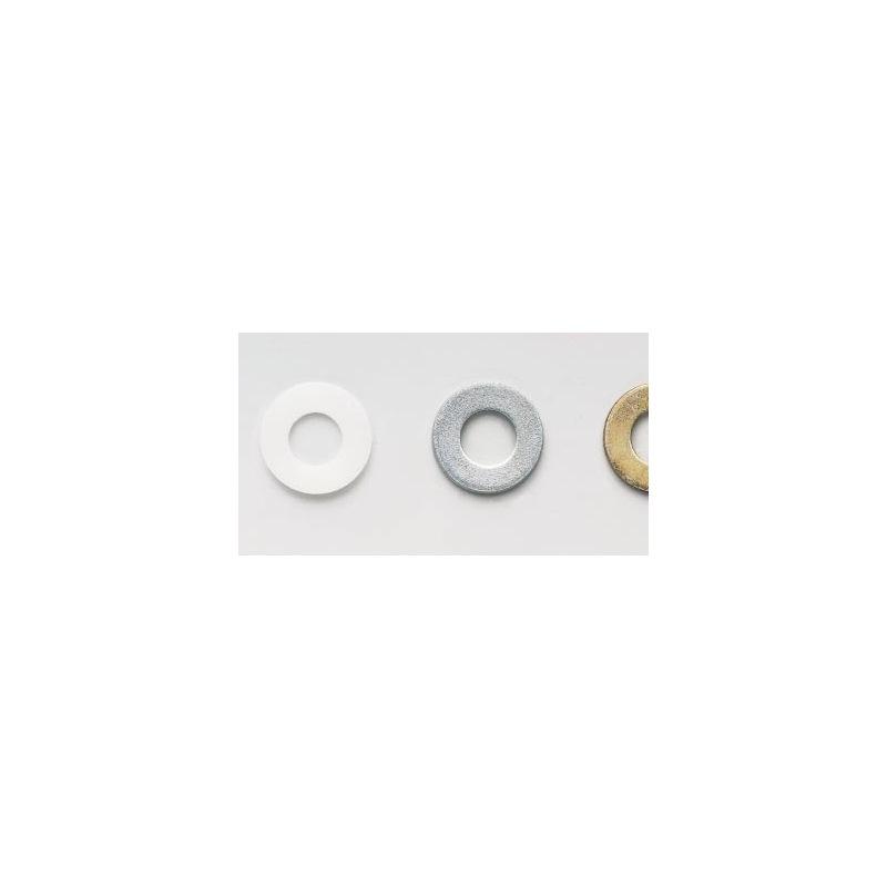 Flache Scheibe, für Sechskantschrauben und Muttern - SHB-DIN125-PA6.6-NATUR-D14,0
