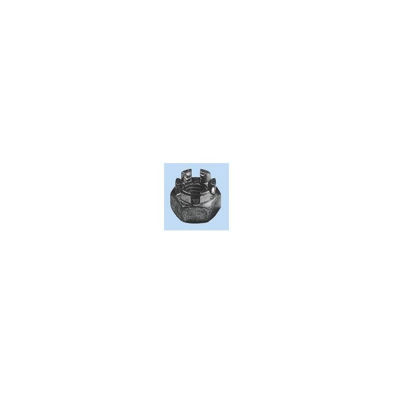 Kronenmutter niedrige Form - MU-KRO-DIN937-22H-SW24-(A2K)-M16