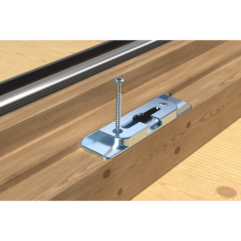 ASSY<SUP>®</SUP>plus 4 FBS RCS Fensterbauschraube Stahl gehärtet verzinkt Vollgewinde Linsensenkkopf - 10
