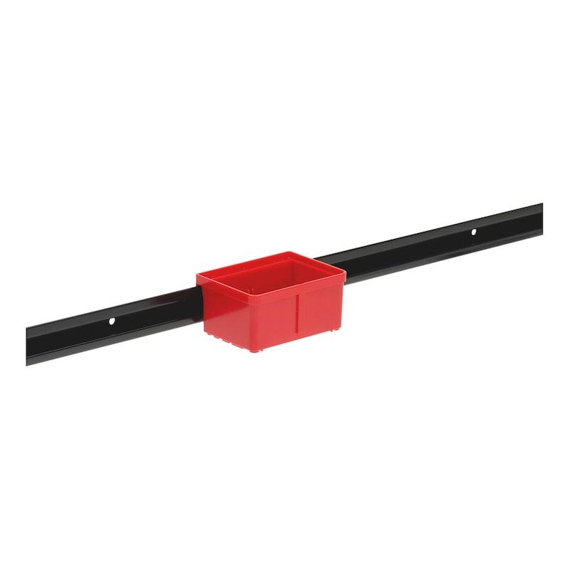 Kannatinkisko laatikoille/lokeroille, System - 3