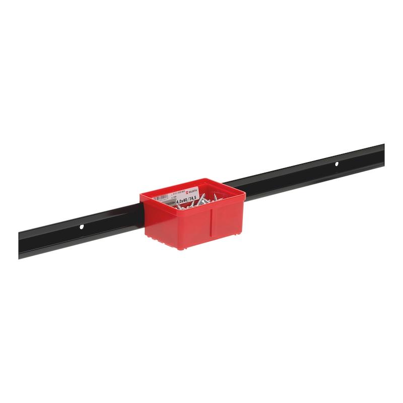 Kannatinkisko laatikoille/lokeroille, System - 5