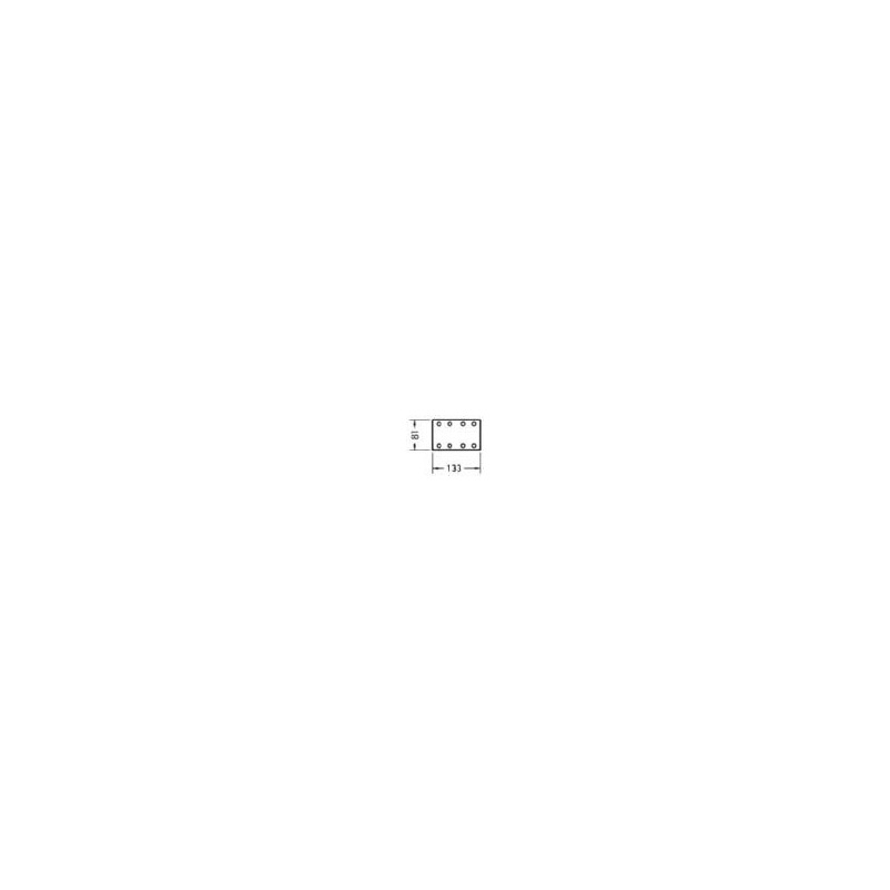 Trockenschleifpapier-Streifen Holz KP perfect - TSPAP-KLETT-BGN-KPC-8LO-P220-81X133MM