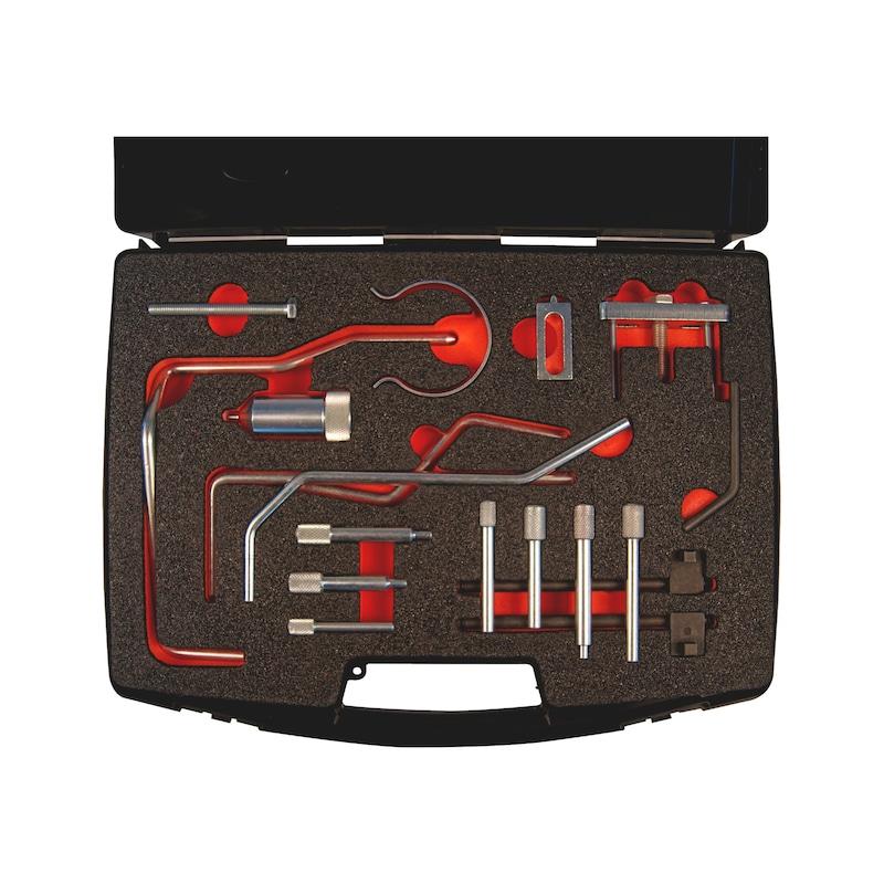 Steuerzeiten-Werkzeug-Satz passend für PSA-Gruppe 1.4 - 1.6 - 1.8 - 2.0 - 2.2, Benzin/Diesel - 2