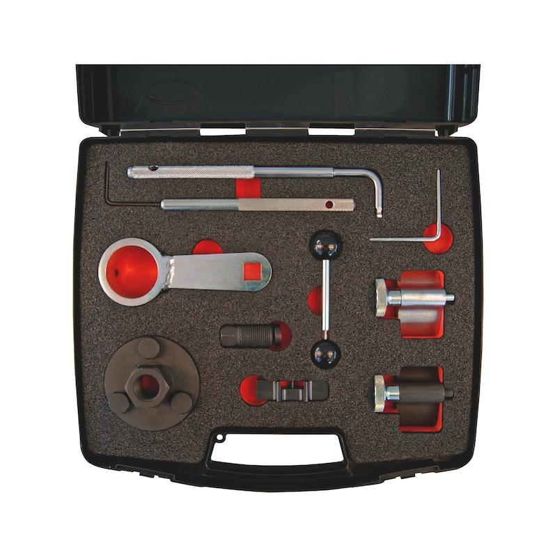 Steuerzeiten-Werkzeug-Satz passend für VW-Gruppe 1.2 - 1.6 - 2.0 TDI CR, Diesel - 2