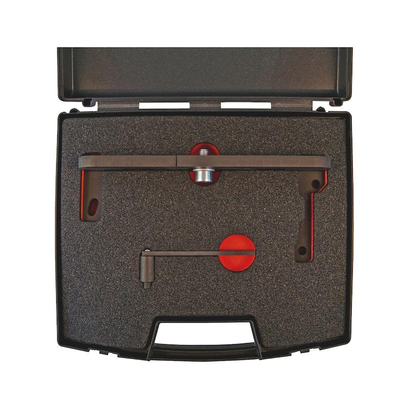 Kit d'outils de calage adapté aux moteurs du groupe PSA 1.0 - 1.2 VTI, essence - 2