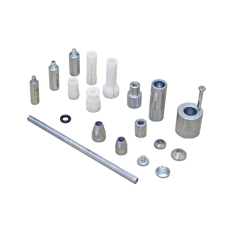 Conjunto de ferramentas para centragem de ferramenta de embraiagem DAC Universal - KIT DE EXTENSORES PARA EMBRAIAGEM SAC