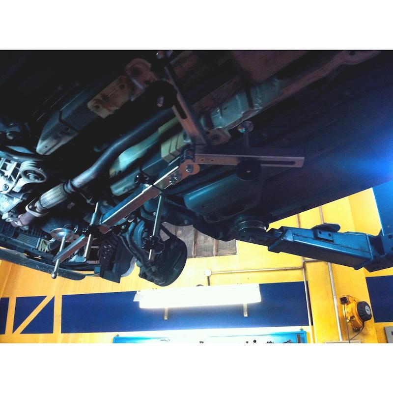 Sup. motor univ c/ braços telescópicos e rotativos - SUPORTE DE MOTOR BRAÇOS TELESCÓPICOS