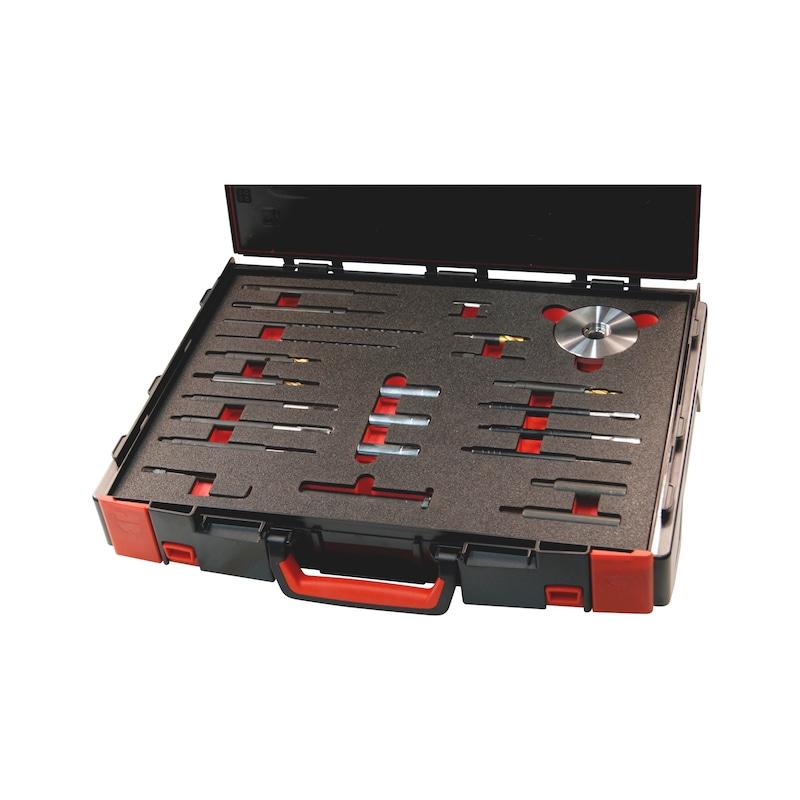 Universal-Glühkerzen-Werkzeug-Mastersatz Universal - SET ABGEBRO GLÜHKERZEN M8X1 - M10