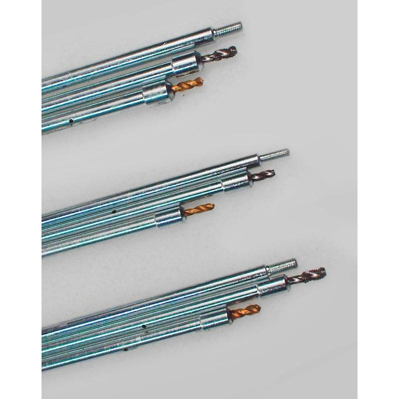 Universal Ausbohr- und Demontage-Satz für abgebrochene Glühkerzen-Spitzen M8x1 - M9x1 - M10x1 - M10x1.25 Universal - 2