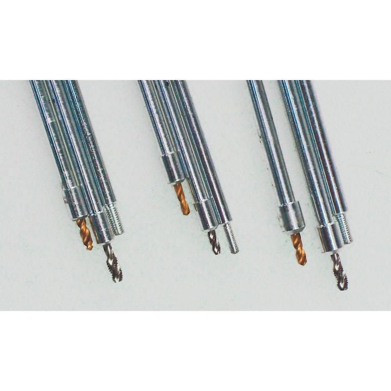 Universal Ausbohr- und Demontage-Satz für abgebrochene Glühkerzen-Spitzen M8x1 - M9x1 - M10x1 - M10x1.25 Universal - 0