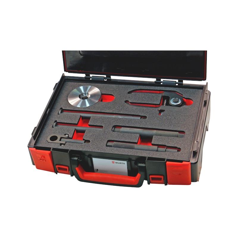 Gleithammer-Injektoren-Auszieher-Satz Delphi, Denso, Siemens, Bosch - 1