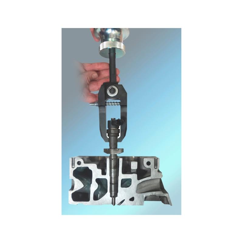 Gleithammer-Injektoren-Auszieher-Satz Delphi, Denso, Siemens, Bosch - 2