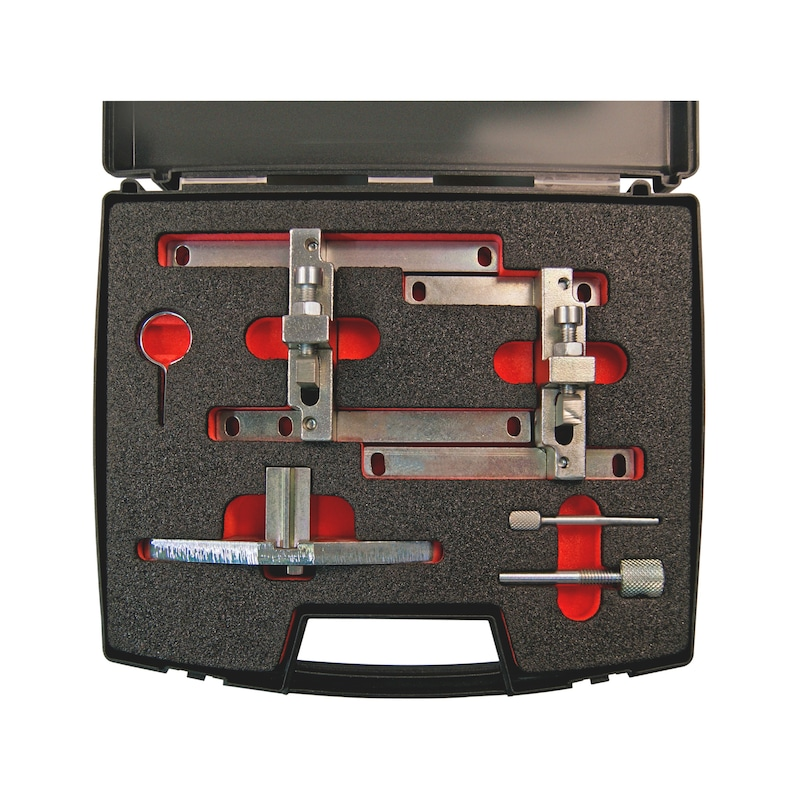 Conj ferr sincron motor gasol Ford Ecoboost, 6 pçs - KIT DISTRIBUIÇÃO FORD 1.0 GASOLINA