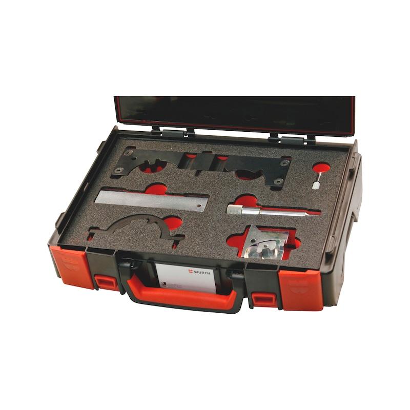 Kit d'outils de calage adapté aux moteurs Opel 1.0 - 1.2 - 1.4 EcoFlex, essence - KIT CAL DIST OPEL1.0-1.2-1.4ECO ESS